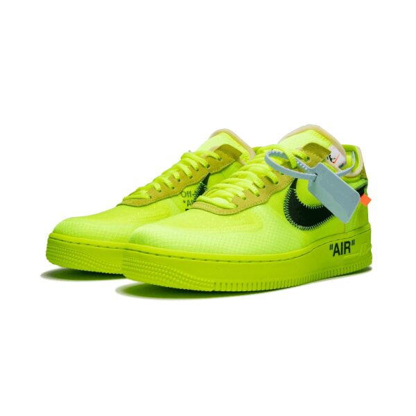 NIKE AIR FORCE 1 OFF-WHITE VOLT - YZY