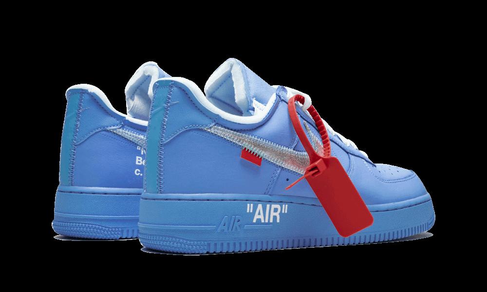 NIKE AIR FORCE 1 OFF-WHITE MCA BLUE