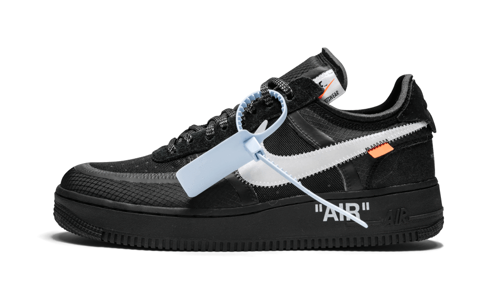 NIKE AIR FORCE 1 OFF-WHITE BLACK - YZY